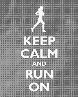wyluzuj i po prostu biegnij