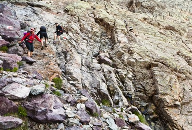 Korsyka, gr20: Circque de la Solitude